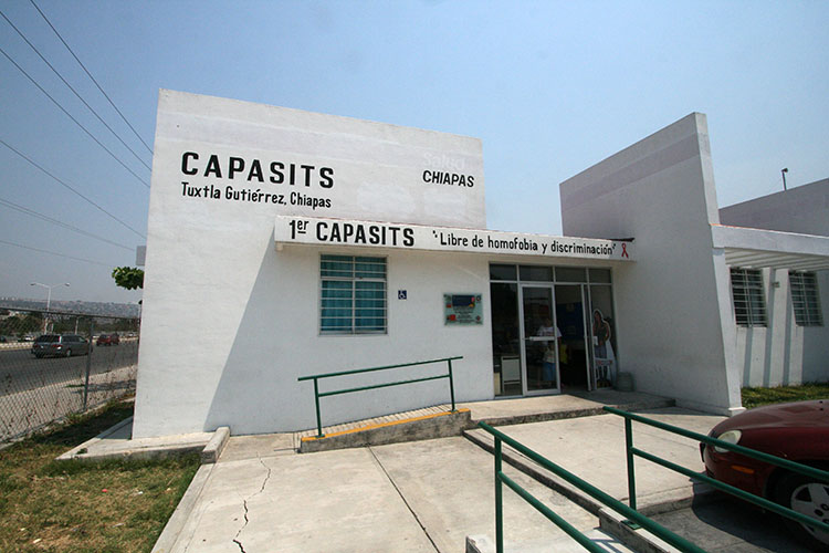 capacits, one of two state-run HIV only clinics in the state of chiapas. tuxtla.